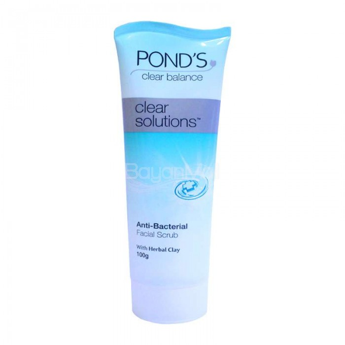 Clear Solutions Anti Bacterial Facial Scrub By Ponds