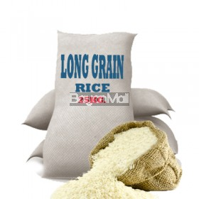 Long Grain Rice by Sack 25Kg