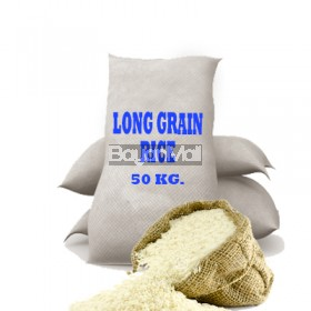Long Grain Rice by Sack 50Kg