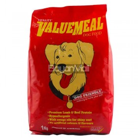 Vitality Value Meal Dog Food 1kg