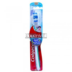 Colgate with Tongue Cleaner 360° Whole Mouth Clean (Soft) 10g