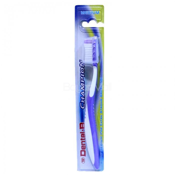 Dual purpose toothbrush - 3 9