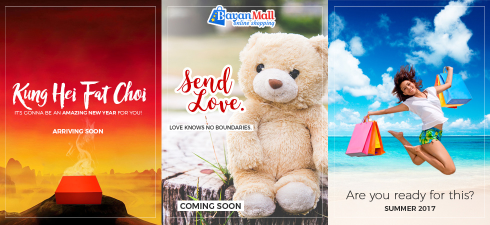 BayanMall is an Online Shopping Mall for Filipinos working abroad who wishes to send gifts and other items to their families back home